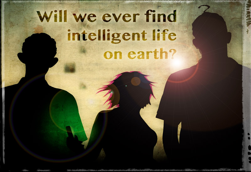 Will we ever find intelligent life… on earth?