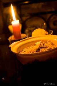 Autumn - Dark dining