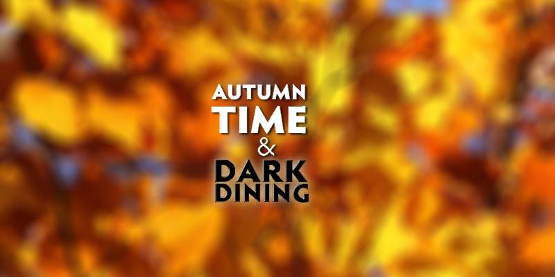 Autumn - Putting the clocks back - Daylight saving time.