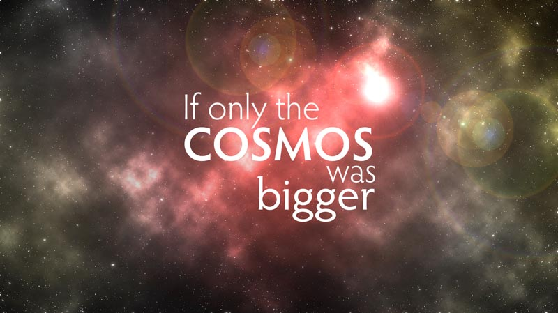 Cosmos – How big is the universe?