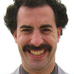 Movember - Less Magnum and more Borat
