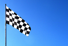 chequered flag photo