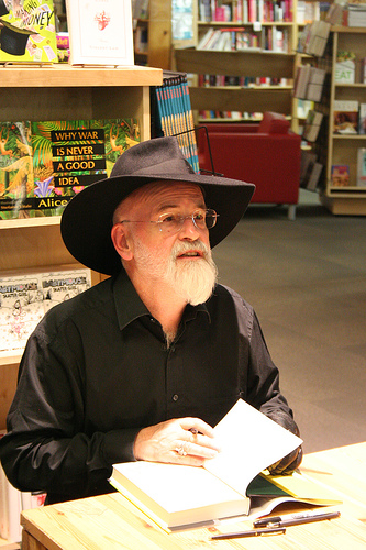 pratchett photo