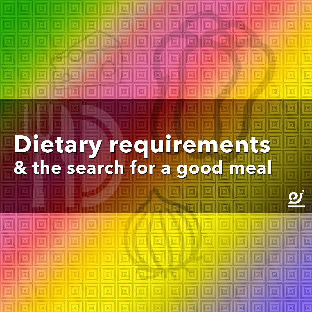 Dietary requirements and the search for a good meal.