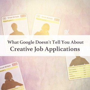 What Google doesn't tell you about Creative Job Applications image