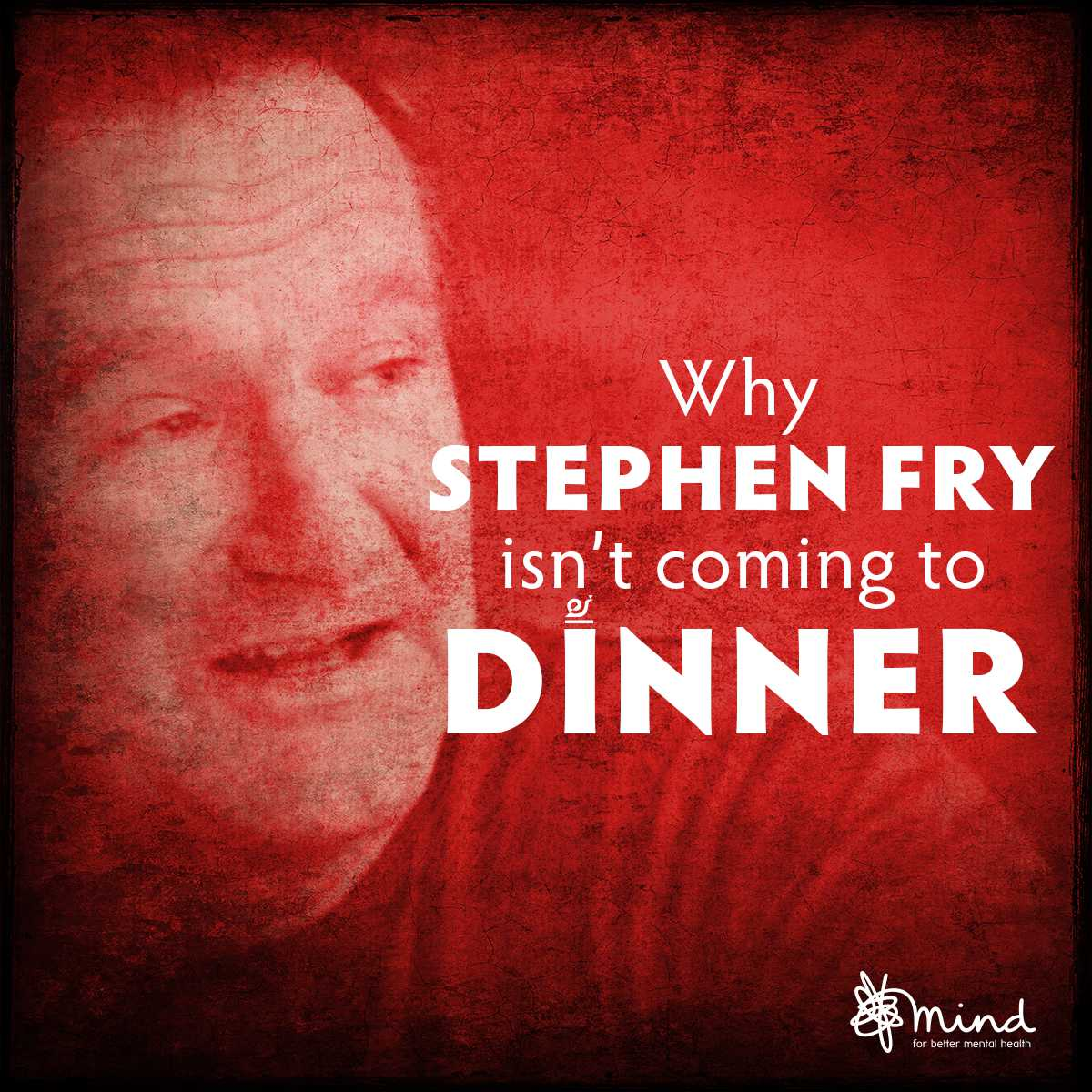 Why Stephen Fry isn't coming to dinner.