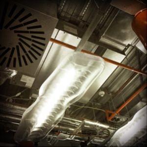 Google HQ ceiling