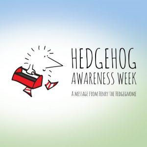 Hedgehog awareness week 2017