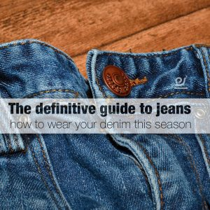 how to wear your denim this season