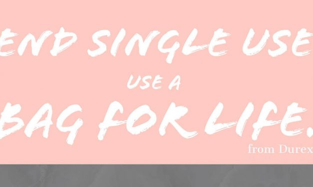 End single use – use a bag for life