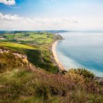 Chesil-Beach-from-Golden-Cap